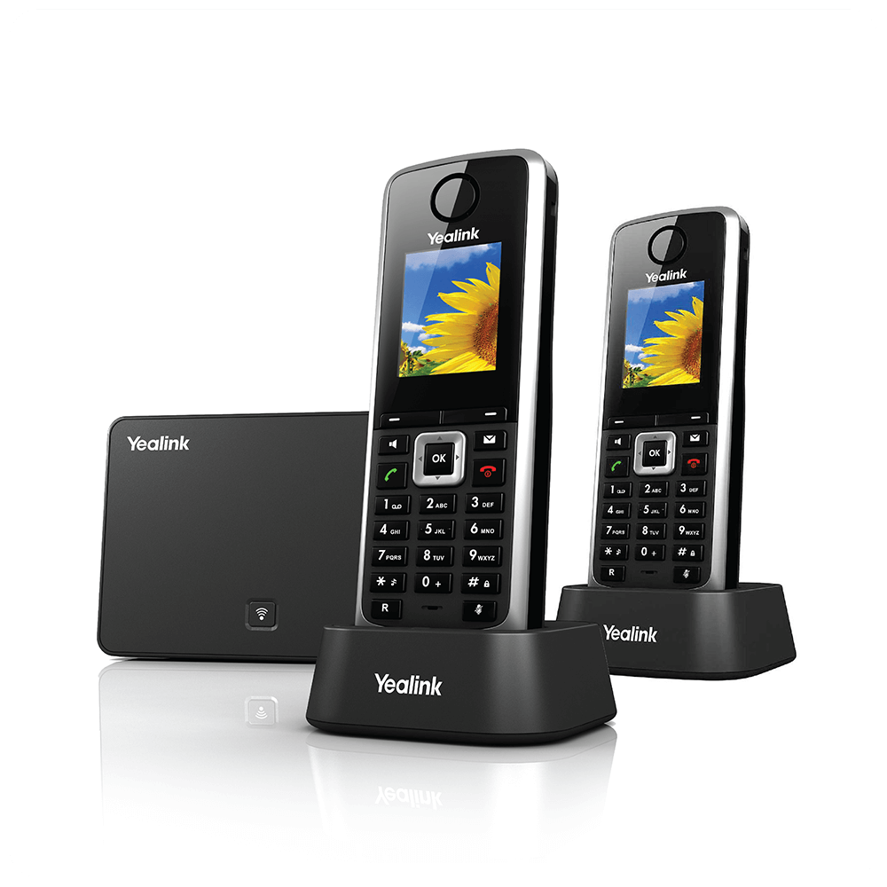 Cordless Business Phone In Dock