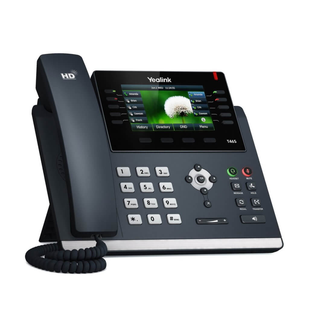 Receptionist Business Handset Phone